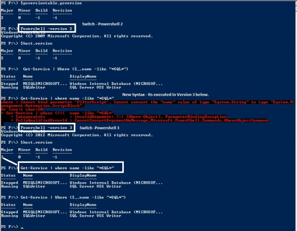 PowerShell-Version